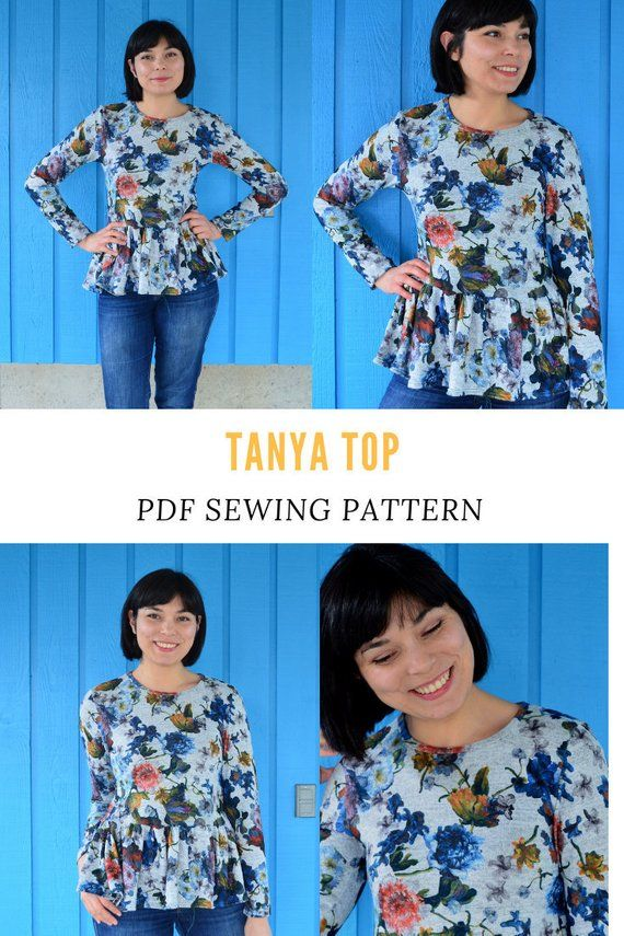 graphic about Free Printable Plus Size Sewing Patterns identify The Tanya Ultimate PDF sewing routine and sewing guideline