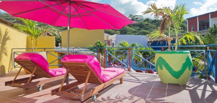 Try something different at this fun and affordable curacao hotel