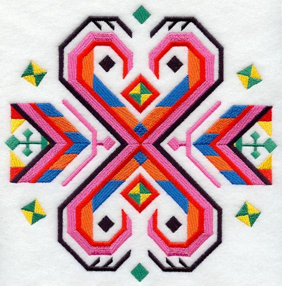 Bulgarian folk embroidery