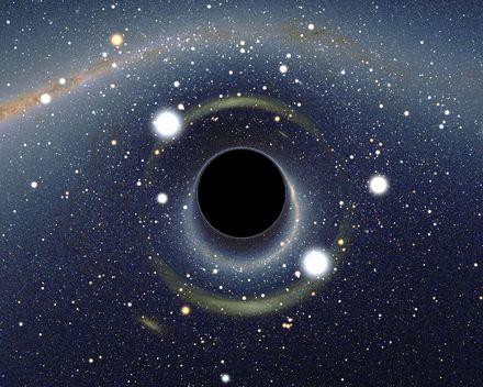 Ca se passe là haut...: Les Trous Noirs Chaotiques de Stephen Hawking