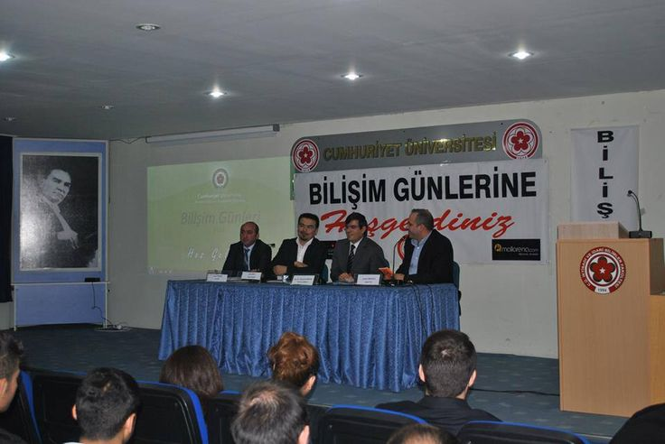 15.05.2013 Çarşamba günü Sivas Cumhuriyet Üniversitesi Bilişim Günleri kapsamında Bulut Bilişim konulu bir konuşma yaptık. http://www.dia.com.tr #dia #ihtiyacınız #için #tek #çözüm #yazılım #software