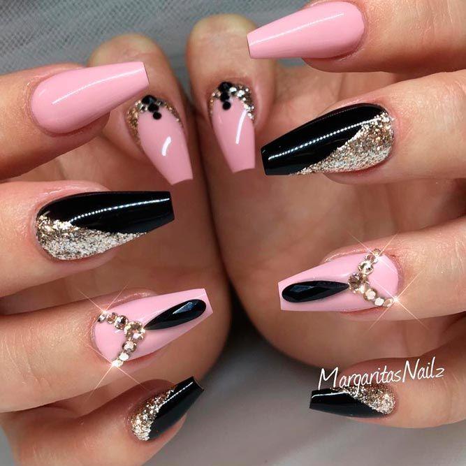 150 Trendy Acrylic Nails Designs 2018