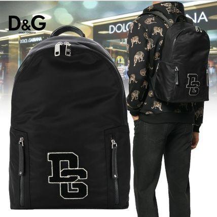 ★2018SS★Dolce & Gabbana★DGパッチ バックパック 送料関税込