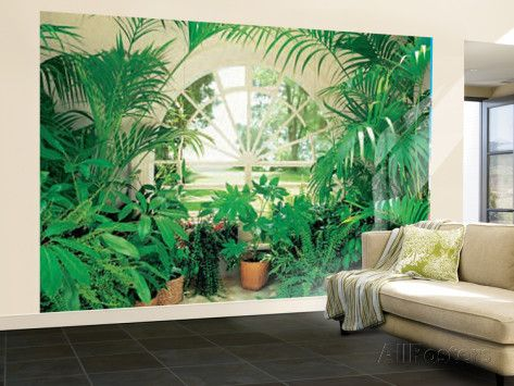 Winter Garden Landscape Huge Wall Mural Art Print Poster Wallpaper Mural    At AllPosters.com Part 70
