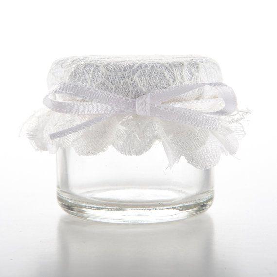 1oz or 1.5oz Mini Jam Jar Wedding Favours with by DoMeAFavourUK, £1.20