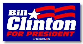 bill clinton campaign logo - Google Search
