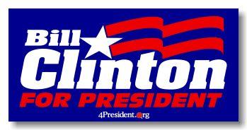 bill clinton campaign logo - Google Search