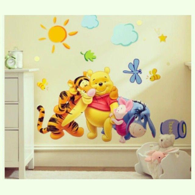 9, 0 0 €  Βάλτε χρώμα και χαμόγελα στους τοίχους!  Αυτοκόλλητο Τοίχου για Παιδικό Δωμάτιο με τον Winnie the Pooh και τους φίλους του!! Διαστάσεις σχεδίου στον τοίχο: 74x46 cm * Wallpaper Sicker with Winnie the Pooh- Cartoon - Children Bedroom!  #παιδί #Σπίτι #διακόσμηση #παιδικόδωμάτιο #WinniethePooh #αυτοκόλλητο #τοίχος #sticker #wallpaper #bedroom #children #cartoon #home #colors #smile