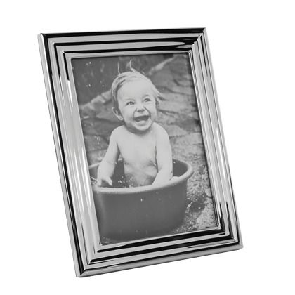 Mooi zilveren fotolijstje. Plaats je mooiste herinneringen dicht bij je ♥