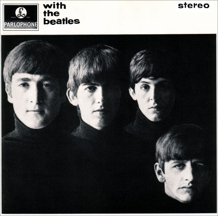 George, John, Paul & Ringo: With the Beatles (album) 1963 Photography by Robert Freeman
