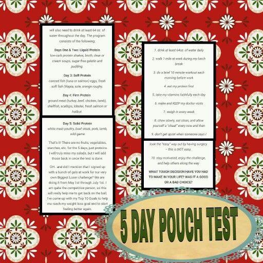Pouch Reset Pouch Reset 5 Day Pouch Reset Bariatric Diet