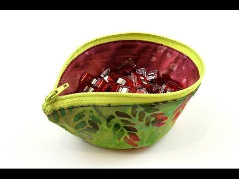 Easy Wonder Clip Bowl Tutorial - YouTube