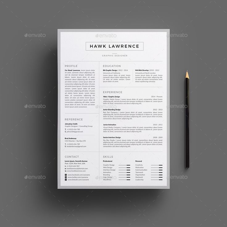 INCLUDED Resume/CV Template Cover Letter Help File & User Manual FEATURES ...