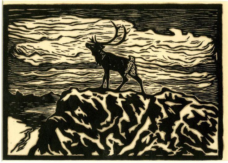 John Savio, woodcut