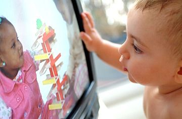 want a brainy baby? don't watch tv