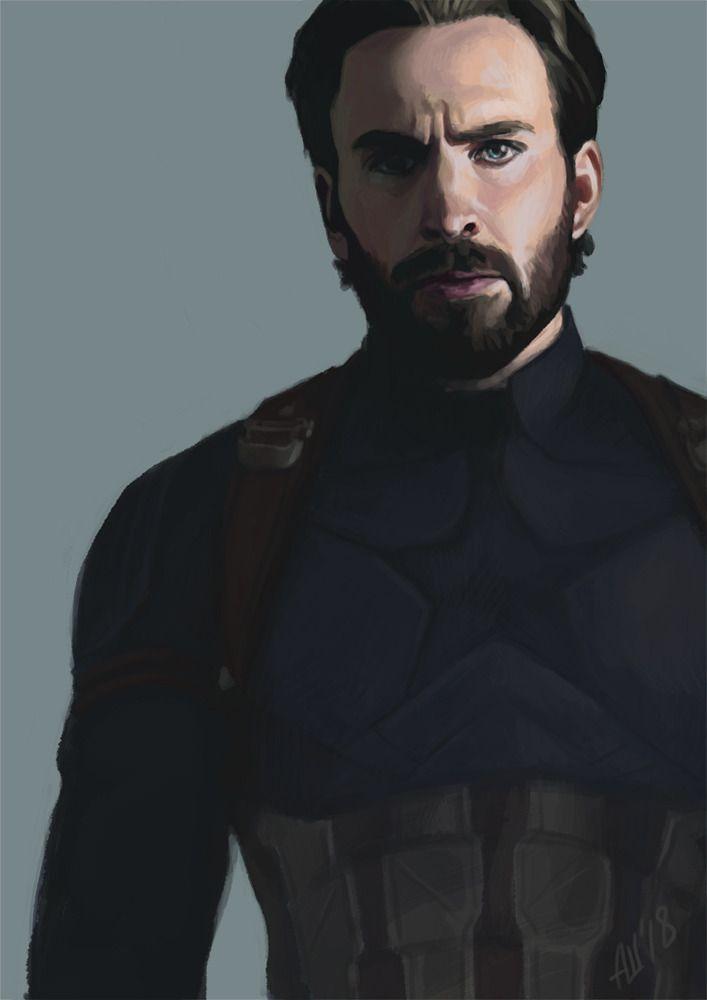 #teamstony // armellin:  Captain America aka Steve Rogers