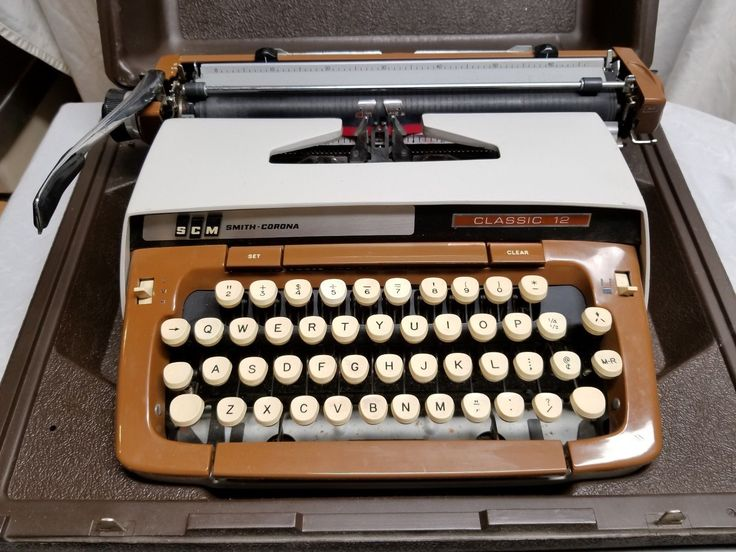 Details about Vintage -Smith Corona - Deville XT - Typewriter -Great ...