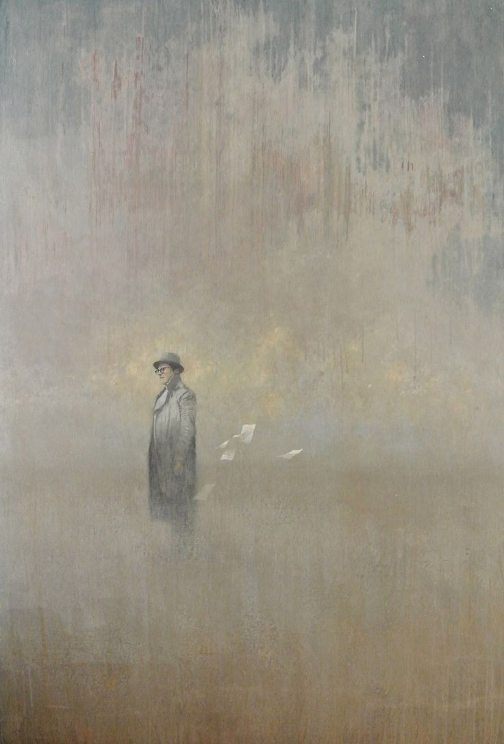 Beautiful paintings by Chile-born Richmond, Virginia-based artist Federico Infante.