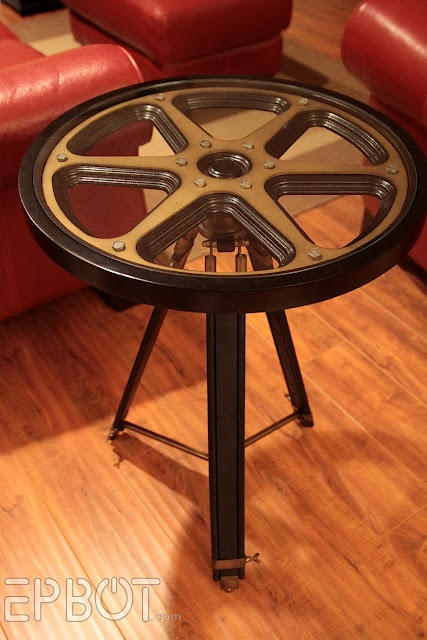gear side table available at hobby lobby steampunk inspirations pinterest awesome might. Black Bedroom Furniture Sets. Home Design Ideas