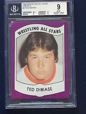 1982 Wrestling All-Stars Series A #4 Ted Dibiase BGS 9 MINT