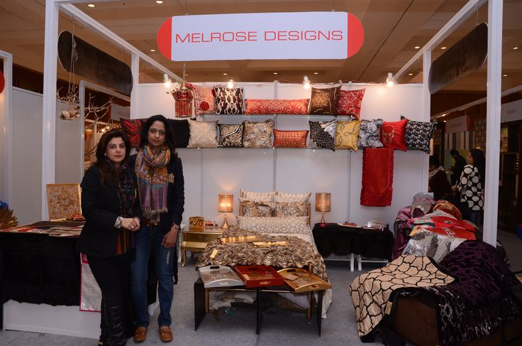 #MelroseDesigns presents a beautiful and magnificent collection of #homefurnishing. This year bring home a great reason to be happy about with this quintessential #bed #cushions#lamps. #housefullexhibition  #ramolabachchan
