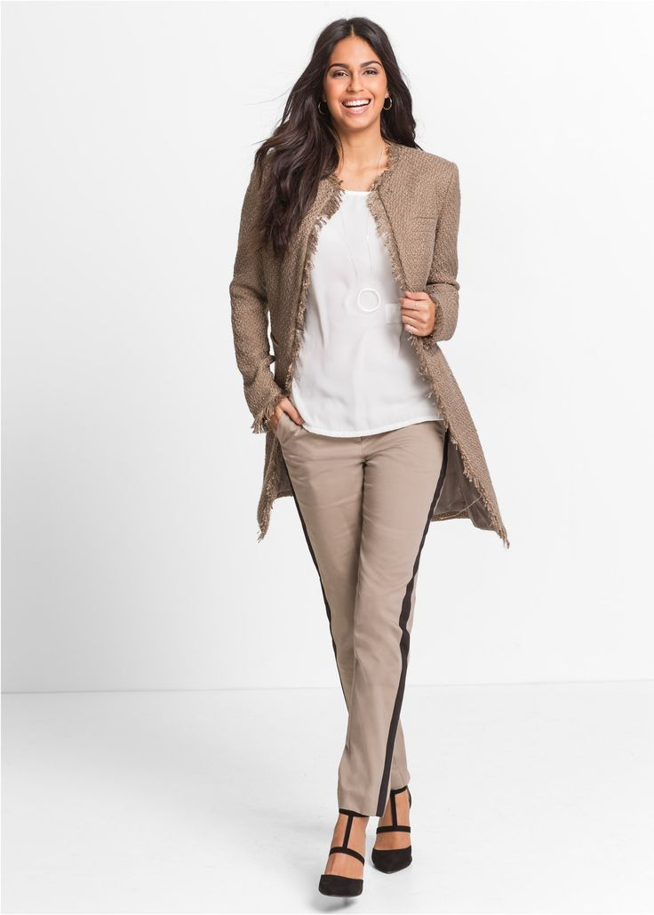 Longblazer taupe - BODYFLIRT jetzt im Online Shop von bonprix.de ab ? 49,99 bestellen. Für besondere Outfits ist dieser Longblazer von BODYFLIRT perfekt. ...