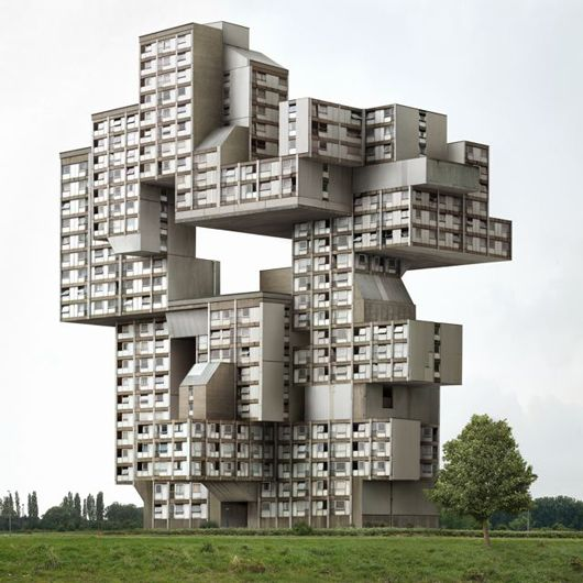 The Nord LB Building located in Hannover Germany Almost looks like a failed attempt at tetris
