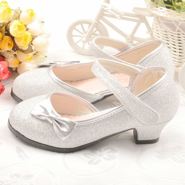 2014 new children princess high heeled shoes kids girls shoes children sneakers silver shoes for girl dress shoes #CS009#-inSneakers from Shoes on Aliexpress.com