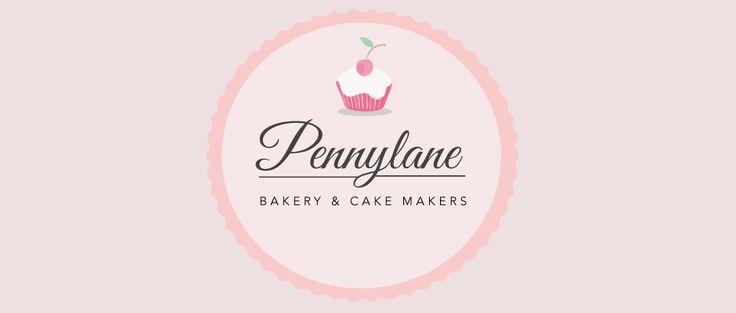 Vintage Cake Logo Design Logos Pinterest Bolos ...