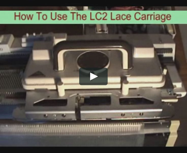 "This is ""LC2 Lace Carriage"" by Machine Knitting By Susyranner on Vimeo, the home for high quality videos and the people who love them."