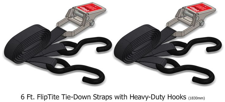 Flptite straps come with hooks and without intothewild