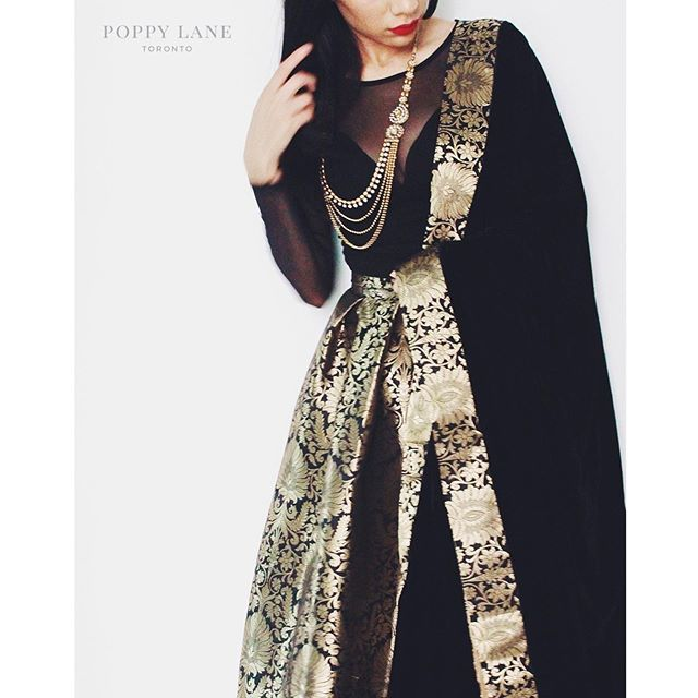 Top: ASOS, Skirt and Dupatta: Poppy Lane Toronto