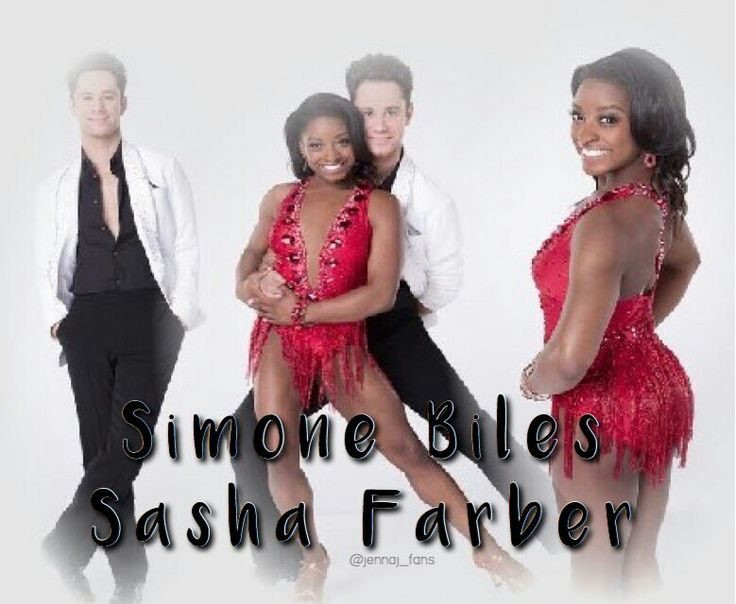 Sasha Farber & Simone Biles