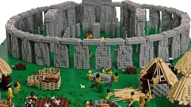 Un Britannique a construit les plus beaux monuments du monde avec de petites briques.