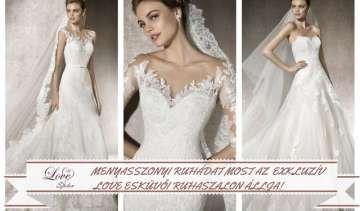 Nyerd meg mennyasszonyi ruhádat