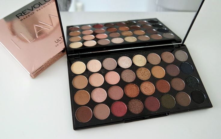 Full review of the Makeup Revolution 32 Flawless Eyeshadow Palette, including swatches of the shades over on http://emandhanxo.blogspot.co.uk/2015/04/makeup-revolution-flawless-palette.html