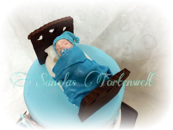 Baptism cake Baby Tauftorte