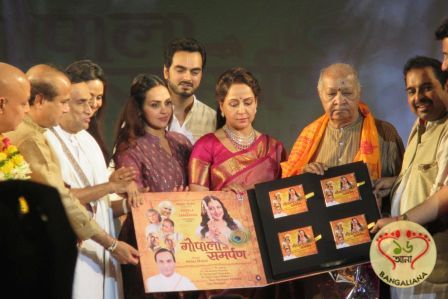 Hema Malini after her stint as an actress-politician added another feather to her cap. Her Bhajan album Gopala Ko Samarpan was recently released.