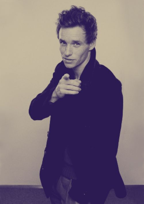 Eddie Redmayne. Beautiful.