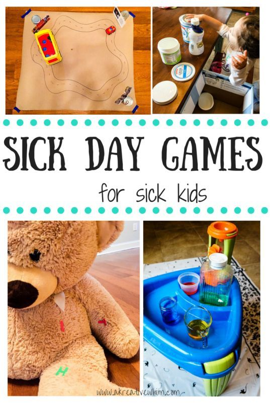 sick day games for sick kids - www.akreativewhim.com