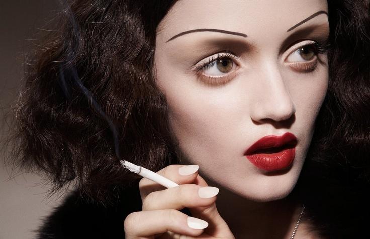 Edith Piaf inspired - Make-up
