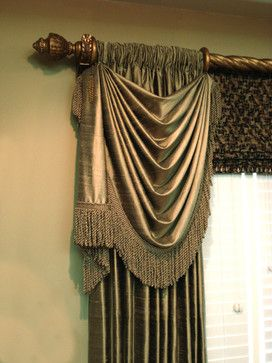 Drapery Swags Design Ideas, Pictures, Remodel, and Decor - page 5