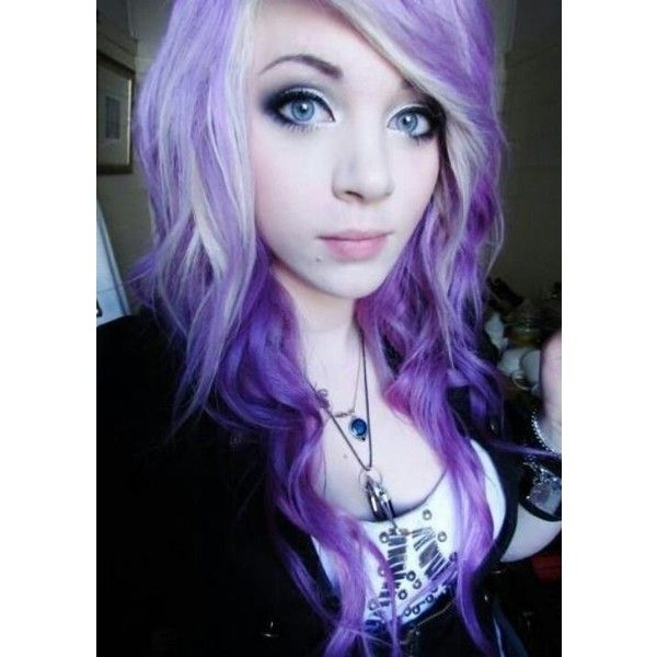 Les Cheveux ❤ liked on Polyvore featuring accessories, hair accessories, hair, white hair accessories and purple hair accessories
