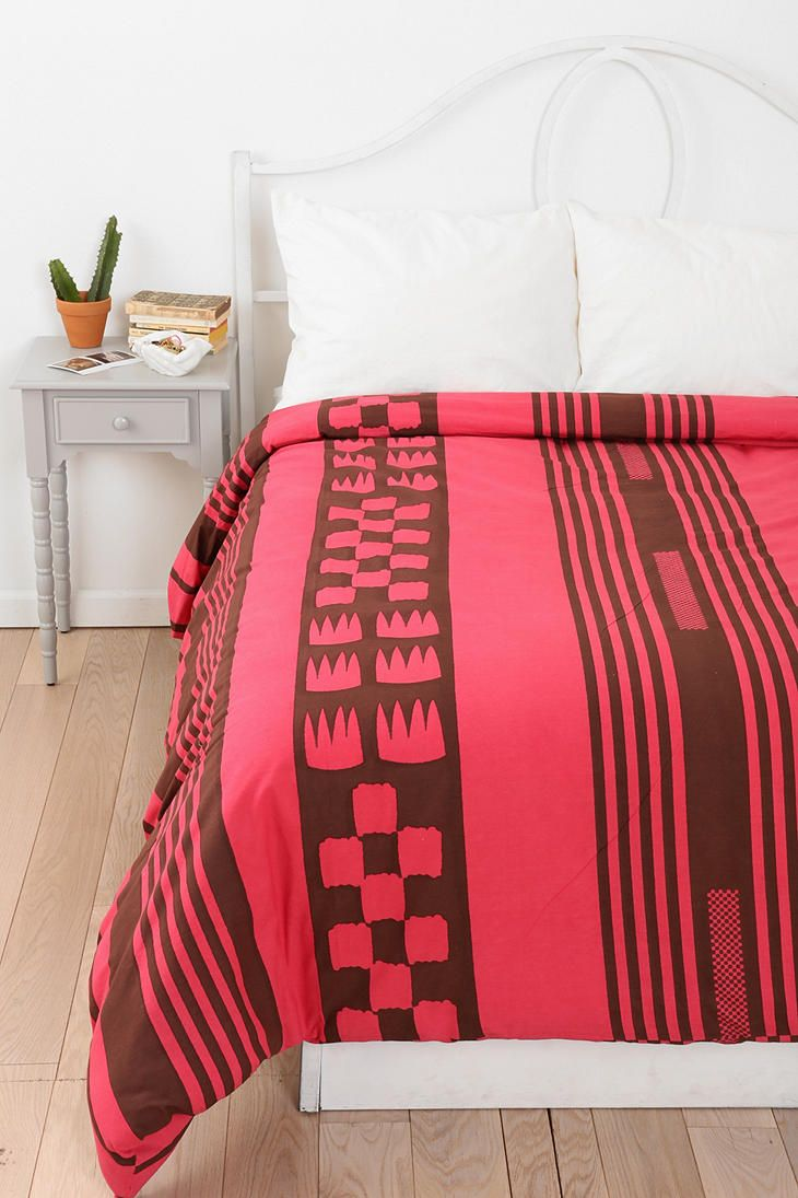 Magical thinking tent stripe duvet cover urbanoutfitters Magical thinking bedding