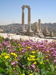 Temple of Hercules. Amman, Jordan.