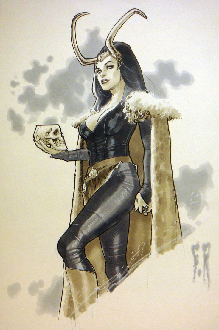 Lady Loki by Stephane Roux                                                                                                                                                                                 More