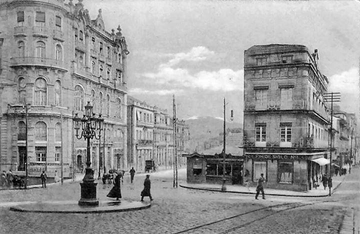 Vigo ciudad ol vica puerta del sol en 1918 vigo for Centro comercial la puerta del sol