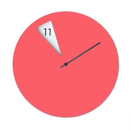 Horloge design, rose