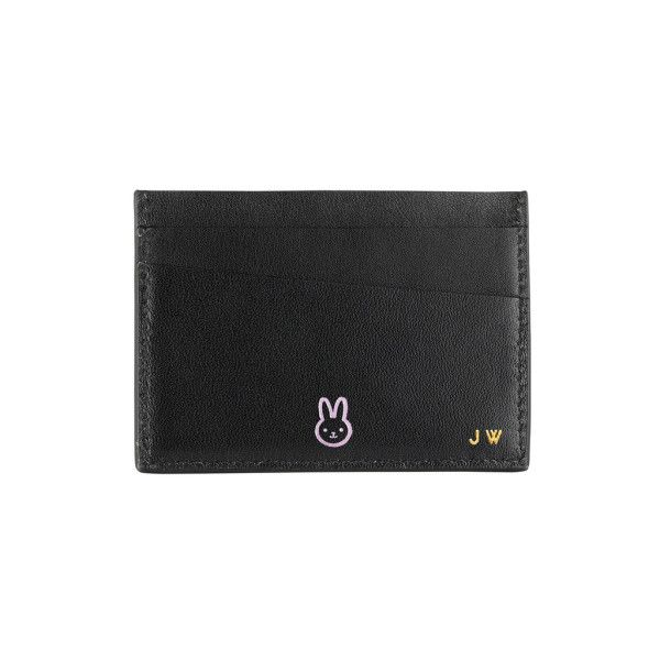 Cardholder With Initials & Chinese Zodiac Motif