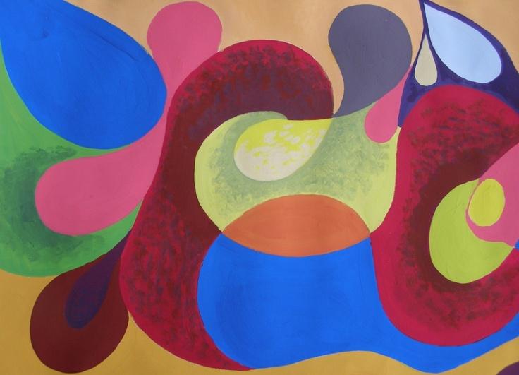 Tertiaire kleuren Dat zijn de onzuiverste kleuren, want ze  bestaan uit een mengsel van drie primaire kleuren.